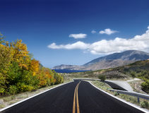 Asphalted road Stock Image