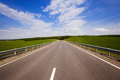 The asphalted road Royalty Free Stock Photo