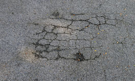 Asphaltic concrete road Stock Photography