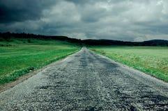Asphaltic road Stock Photo