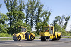 Free Asphaltic Road Building Stock Images - 19681354