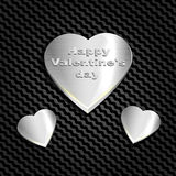 Asphaltieren Sie Herz auf einer Hintergrundmasche des Kohlenhydrats, der Website und der Postkarten Für Glückwünsche an Valentins stock abbildung