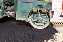 Asphalting Royalty Free Stock Images