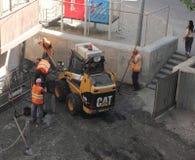 asphalting Stock Foto's
