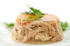 Aspic κρέατος Στοκ εικόνα με δικαίωμα ελεύθερης χρήσης