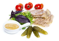 Aspic appetizer Royalty Free Stock Image