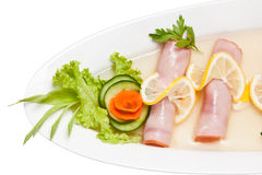Aspic from meat Royalty Free Stock Photography