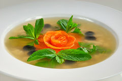 Aspic salad Royalty Free Stock Images
