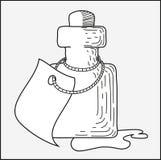 Aspid de la botella Imagen de archivo