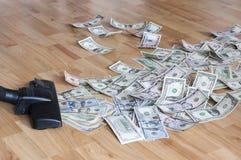 Aspirador de p30 e dinheiro Imagens de Stock