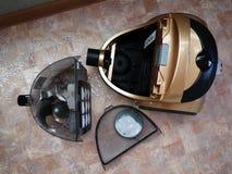 Aspirador de p30 para recolher a poeira nenhuns sacos de lixo Detalhes e close-up fotografia de stock
