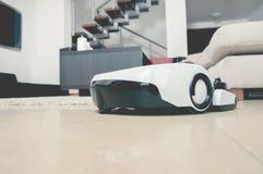 Aspirador del robot Fotografía de archivo