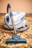 Aspirapolvere su una coperta persiana Fotografie Stock