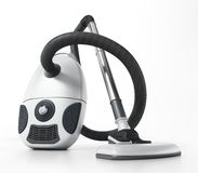 Aspirateur d'isolement sur le fond blanc illustration 3D illustration stock
