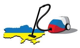 Aspirateur de la Russie en Ukraine Photographie stock libre de droits