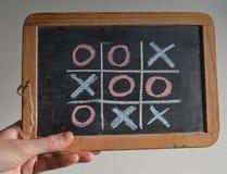 Aspiration : aucun gagnant, score égal, jeu plus de ! Image stock