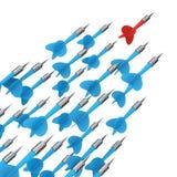 Aspiration für Erfolg Lizenzfreies Stockfoto