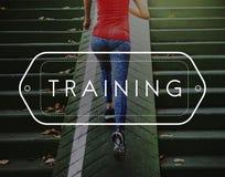 Aspirations de capacité de formation donnant des leçons particulières au concept d'éducation photos stock