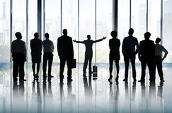 Aspirations-Ziel-Führungs-Planungs-Visions-Auftrag-Konzept Stockfoto