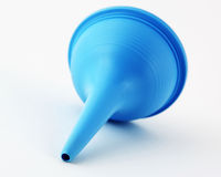 Aspirator. Child's nasal aspirator isolated on a white background Stock Images