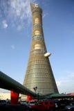 Aspire гостиница факела башни aka в Дохе, Катаре стоковые изображения