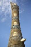 Aspire гостиница факела башни aka в Дохе, Катаре Стоковая Фотография RF
