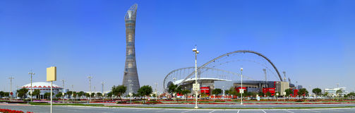 Aspire complex in Doha Royalty Free Stock Image