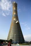 Aspire Tower aka Torch hotel in Doha, Qatar Royalty Free Stock Photography