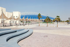 The Aspire Zone in Doha, Qatar stock image