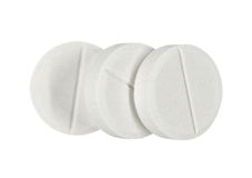 aspirin Image libre de droits