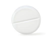 Aspirin getrenntes Path.jpg Lizenzfreies Stockbild