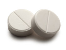 Aspirin pigułki Obraz Stock
