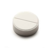 Aspirin pill Royalty Free Stock Images