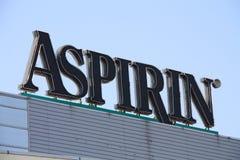 Aspirine Image libre de droits