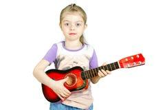 Aspiring guitarist Stock Photos