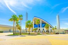 Aspiruje Masjid meczet Doha obrazy stock
