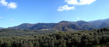 Aspromonte. View of aspromonte calabria  italy Stock Photo