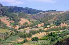Aspromonte Royalty Free Stock Photography