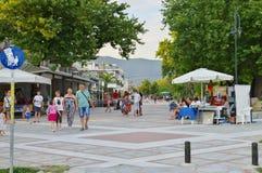 Asprovalta, Chalkidiki, Griechenland Lizenzfreies Stockfoto