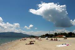 Asprovalta resort and sunny day Royalty Free Stock Photos