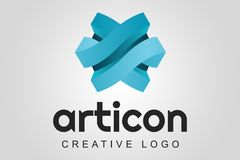 Abstract logo - Articon Royalty Free Stock Images