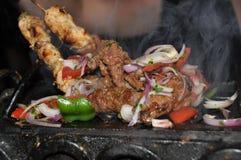 Assado, culinária libanesa Fotografia de Stock