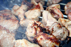 Assado da carne de porco imagem de stock