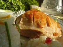 Assado de carne de porco Fotos de Stock