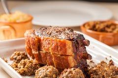 Assado de carne de porco Imagem de Stock