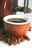 Assaggio del caffè Immagini Stock Libere da Diritti