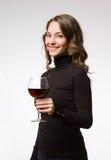 Assaggio di vino. Immagine Stock