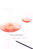 Assaggio di vino immagini stock libere da diritti