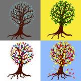 Assaisonne des arbres Photographie stock libre de droits