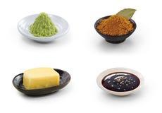 Assaisonnement de nourriture Image stock